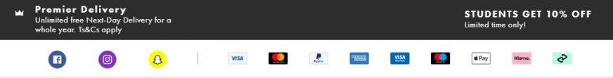 Asos payment
